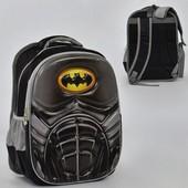 Рюкзак школьный N 00210 Бэтмен 2 кармана, спинка ортопедическая