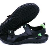 Мужские кожаные сандалии Nike  р 40-45
