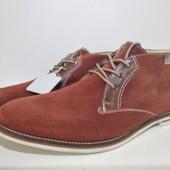 Ботинки мужские, натуральный замш, Venturini (Италия) размер 43,44