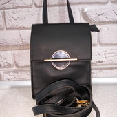 Шикарная сумочка премиум класса, кросс-боди, чёрный