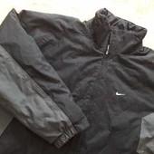 Фирменная куртка тёплая Nike р.54-56