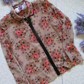 Блузочка в принт полевые цветы