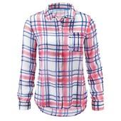 Клетчатая рубашка  от Tchibo  р. евро-46, укр-52