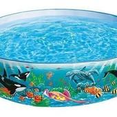 Детский каркасный бассейн 183 х 38 см Intex 58461