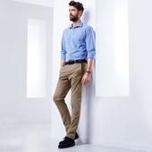 Стильные твилл брюки в стиле Chino L 52 евро Тсм Tchibo Германия