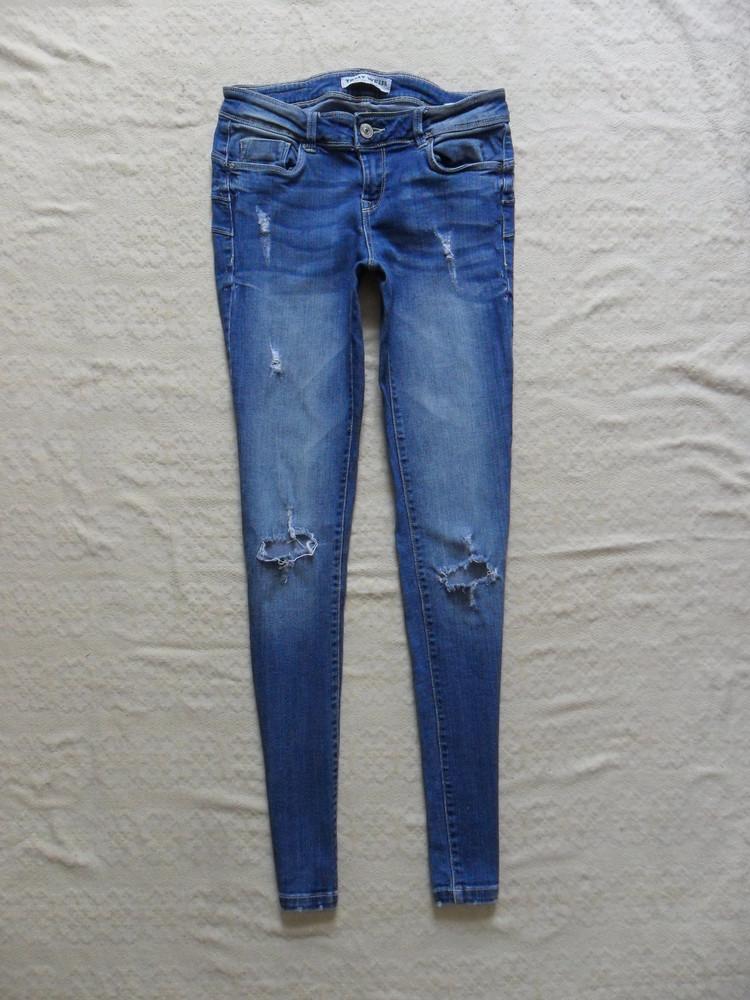 Стильные джинсы скинни с рваностями Tally weijl 6003c901f4525