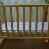 Детский манеж- кроватка.  Самовывоз из города Курахово, Дон обл. или пересылаю с предоплатой 250грн.