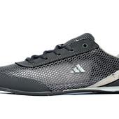 Мужские кроссовки летние сетка Adidas реплика (А-390ср)