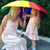 Летний сарафан для мамы и дочки Family Look Фемили Лук
