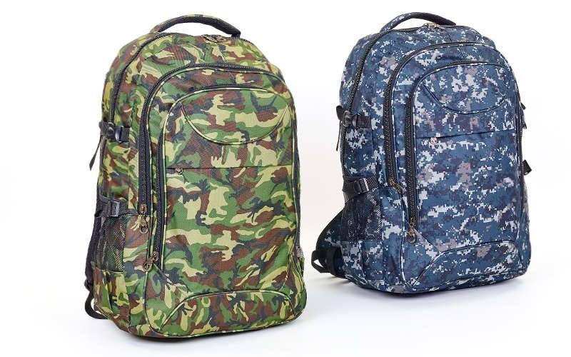 Рюкзак туристический бескаркасный 9281 (рюкзак тактический): объем 50 литров, 58х36х17см (2 цвета) фото №1