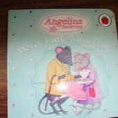 Книга с картонными страницами про Анжделину балерину на английском