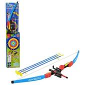 Детский Лук для стрельбы стрелы на присосках, лазер, мишень