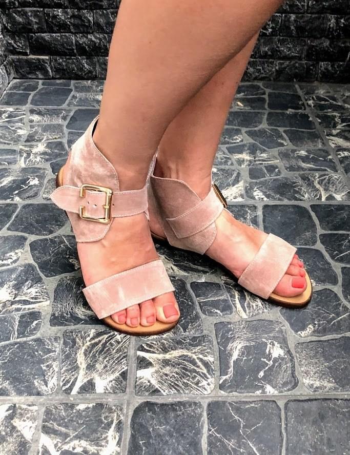 Шикарные сандалии в натуральной замше и коже распродажа фото №5