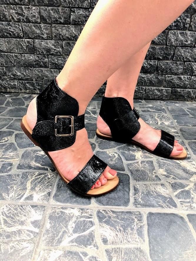 Шикарные сандалии в натуральной замше и коже распродажа фото №4