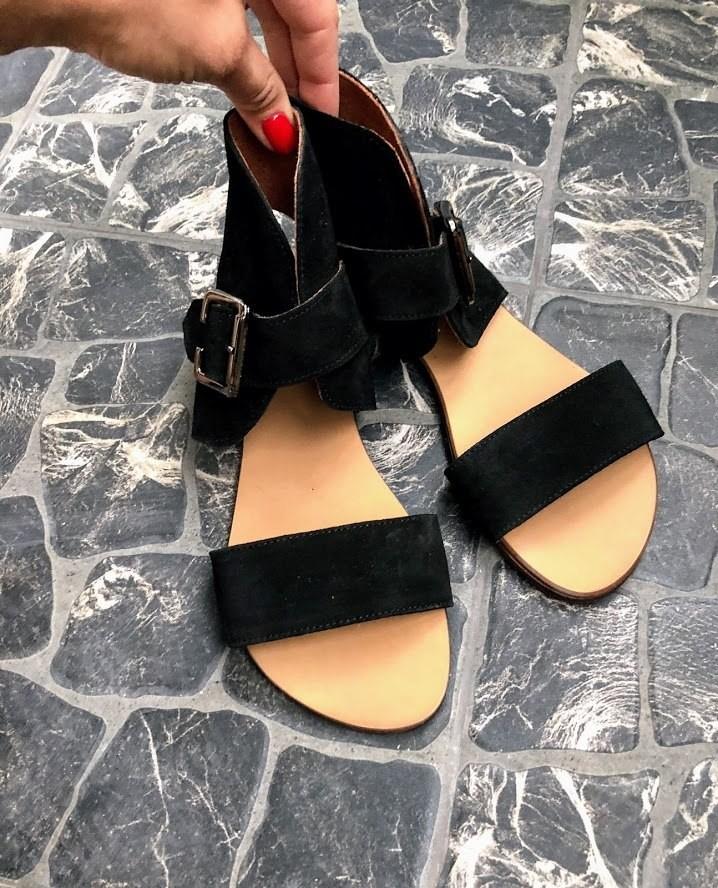 Шикарные сандалии в натуральной замше и коже распродажа фото №20