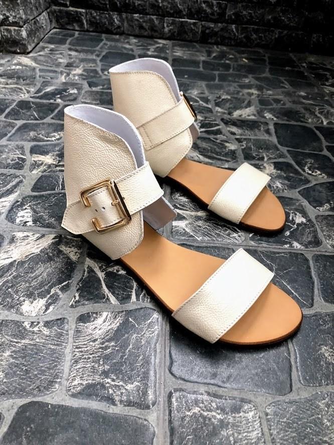 Шикарные сандалии в натуральной замше и коже распродажа фото №22
