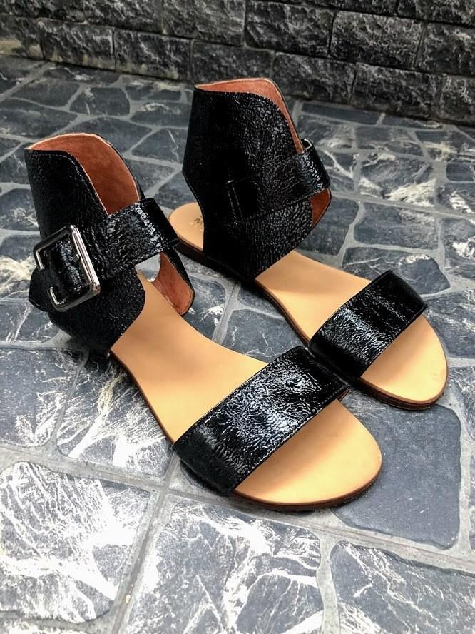 Шикарные сандалии в натуральной замше и коже распродажа фото №18