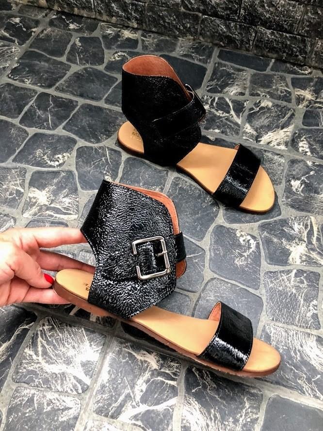 Шикарные сандалии в натуральной замше и коже распродажа фото №12