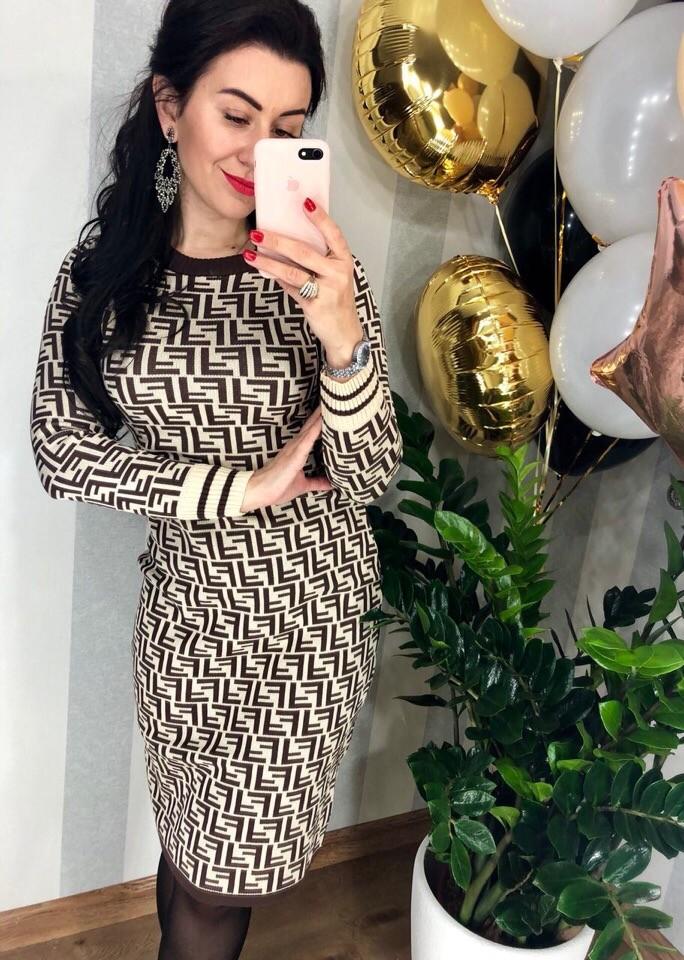 Женское платье fendi фото №1