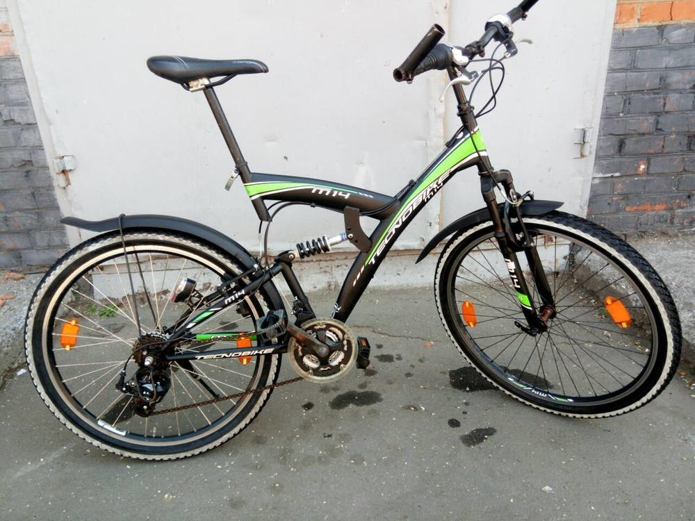 Продам велосипед tecnobike m 14 из Германии. фото №1