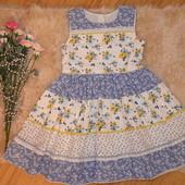 пышнющее платье Matalan на 4-5л