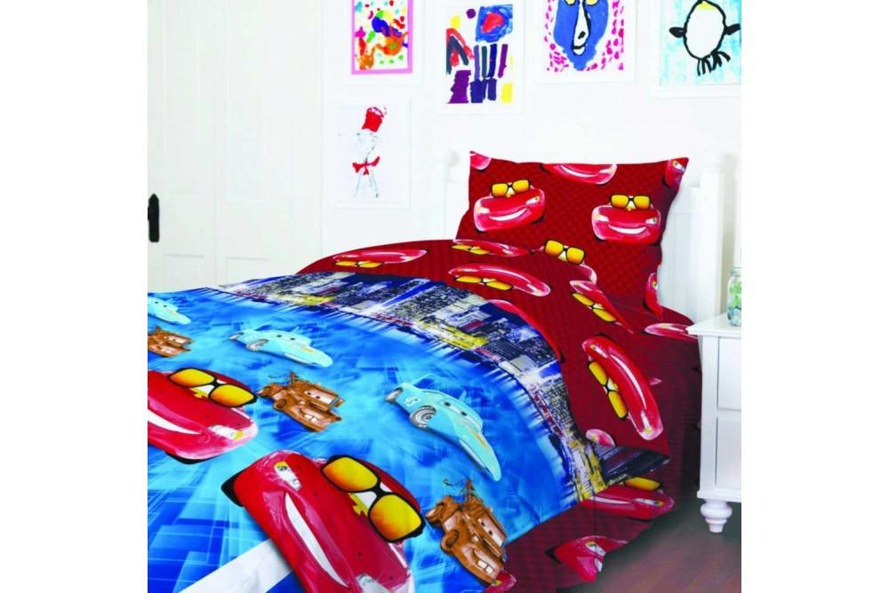 Комплект постельного тм теп подросток тачки в наличии фото №1