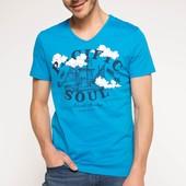 2-2 Мужская футболка DeFacto одежда Турция чоловіча футболка майка мужская одежда