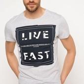 2-41 Мужская футболка DeFacto одежда Турция чоловіча футболка майка мужская одежда