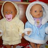 Кофточки на кукол 40-50 см