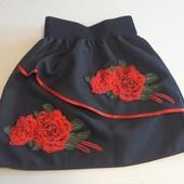 Школьная юбка вышиванка в ассортименте 116-152 от производителя