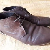 Кожаные фирменные ботинки Ask The Missus р.43-28 см.