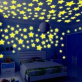 Светящиеся звёздочки, лот 15 шт.