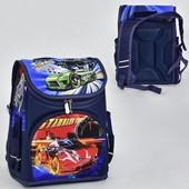 Рюкзак школьный N 00118 2 кармана, спинка ортопедическая