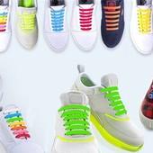 16 шт. эластичные силиконовые шнурки для обуви