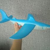 Самалет планер акула