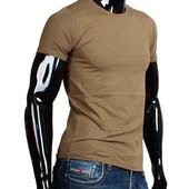 Хлопковая футболка XL Германия однотонная