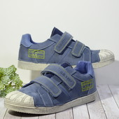 бесплатная пересылка супер качество кожаные кроссовочки на мальчика 31 32 33 35 36 от DDStep ддстеп