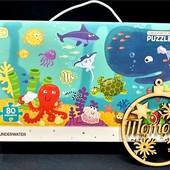 Пазлы Додо подводный мир: 80 деталей