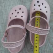 Балетки сабо Crocs С 8-9