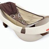 Fisher-price Детская ванночка для купания 3 в 1 с вибромассажем calming waters vibration W9428