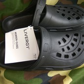 Стильние фирменние шлепки шлепанци кросси бренд Германия.42-43.