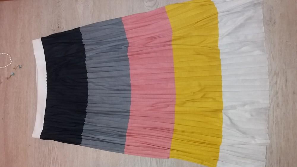 Новая юбка asos макси разноцветная фото №1