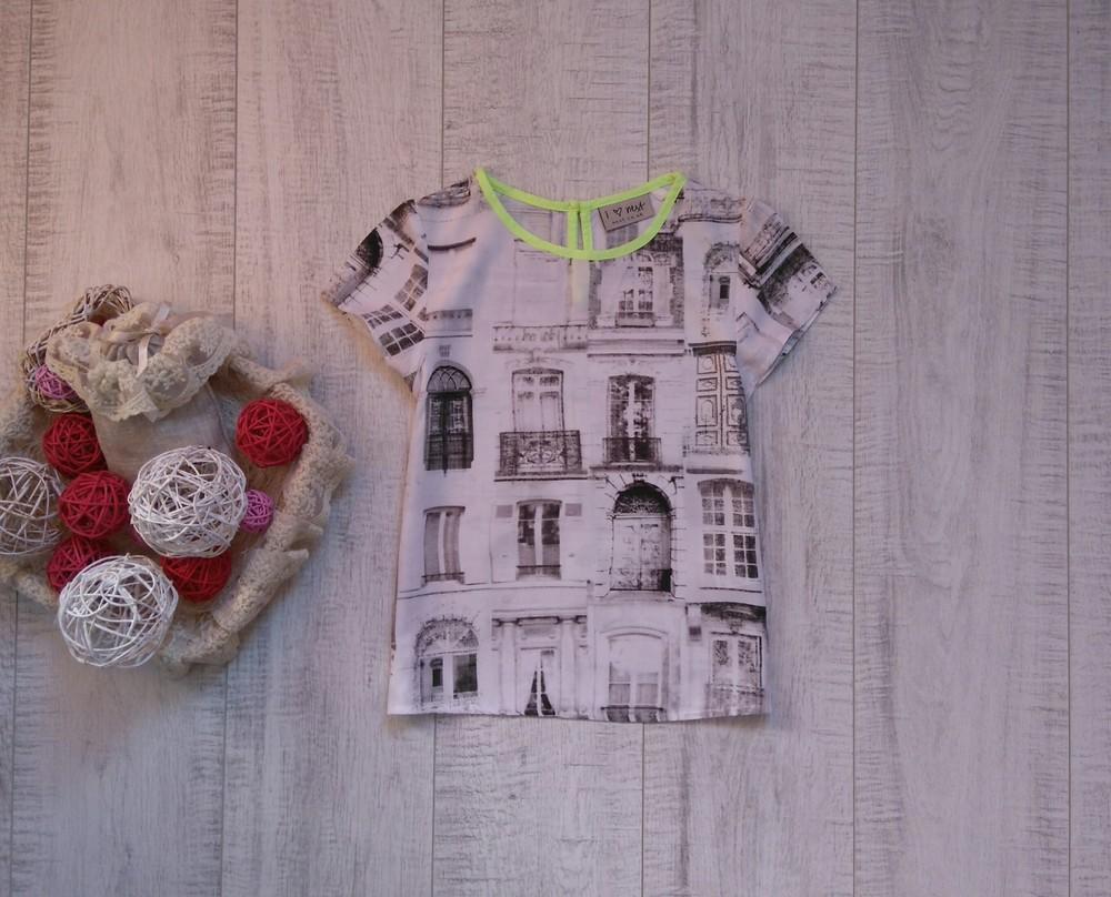 5 лет стильная блуза i love next фото №1
