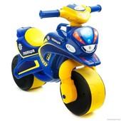 Мотоцикл, мотобайк Полиция 0139 Долоні муз., беговел Долони, Doloni в ассортим