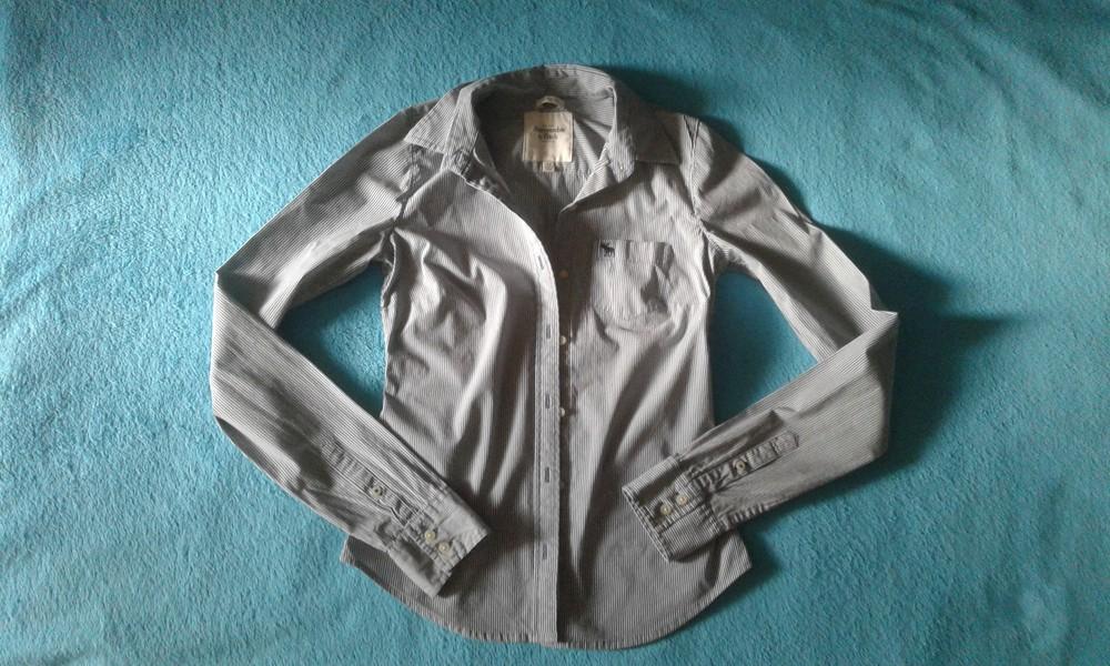 Продам женскую рубашку abercrombie&fitch. размер xs. фото №1
