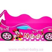 Кровать-машина Мини Маус для Девочки - бесплатная доставка!