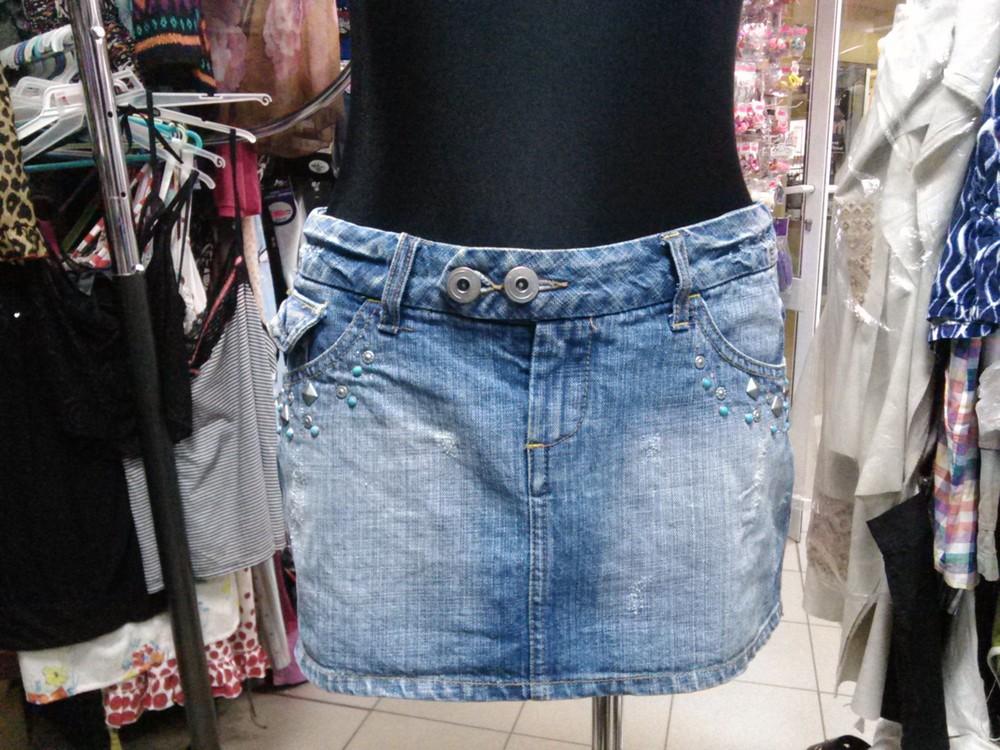 Юбка джинсовая,разм 38 фото №1