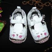 Гламурные пинетки-туфли  Matalan по ст.11 см.Мега выбор обуви и одежды!