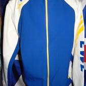 Фирменная спортивная термо  курточка куртка бренд Ewm (Евм) л -хл.