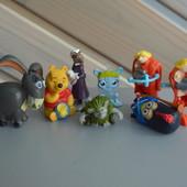 Киндер игрушки винни пух из мультиков животные